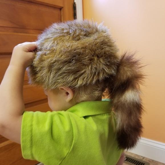 2ca3faf861d j hats Other - Faux Coonskin Hat Sz  Large (12 months-24 months